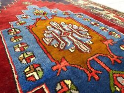 1960s Antique Caucasian Kazak 4Ftx 6Ft *Never Been Used* Dowry Rug Free Shipping