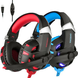 ONIKUMA K2 Gaming Headsets Stereo 7.1 Surround Sound USB wMic for PS4 PC Laptop