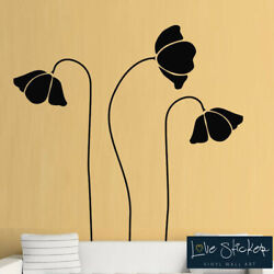 Wall Stickers Flowers Vine Floral Living Room Hall Art Decals Vinyl Home Room De GBP 22.99