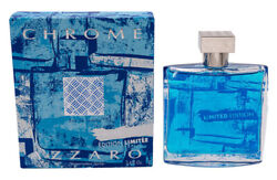 Chrome Limited Edition by Azzaro 3.4 oz EDT Cologne for Men New In Box $23.63