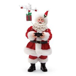 Department 56 H8 Christmas Drone Delivery Santa Figurine 11in 6001683 $68.99