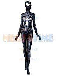 2018 She-Venom Anne Weying Costume 3D Printed Spiderman Costume For AdultKids