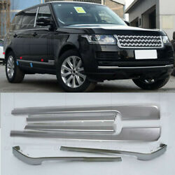 Car Door Body Side Molding Protector Cover For Range Rover Autobiography 13-20