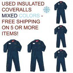 Used Coveralls Insulated Cintas Redkap Unifirst G&K MIXED COLORS