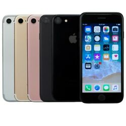 Apple iPhone 7 Smartphone Black Rose Gold Silver 32GB 128GB 256GB GSM Unlocked