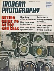 Modern Photography Magazine December 1966 44 Top Cameras Rolleifix Voigtlander $27.50