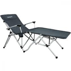 KingCamp Zero Gravity Chair Oversized XL Folding Patio Lounge Chaise Bed...