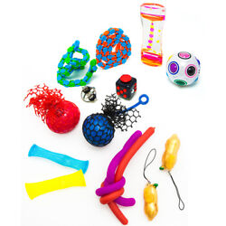 Fidget Sensory Stress Relief Hand Toys for Autism ADHD Dementia for KidTeenAdult $12.00