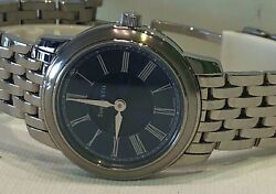 TIFFANY & CO. MARK SILVER LADIES WATCH With Rare Blue Dial Retail 2650
