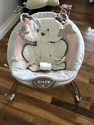 Fisher Price My Little Snugapuppy Deluxe Bouncer for Infants $30.00
