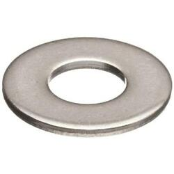 100 Qty #10 Stainless Steel Commercial Flat Finish Washers (BCP667) $6.35