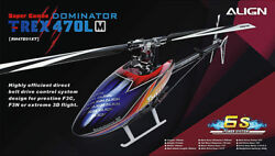 Align T REX Trex 470LM Dominator Super Combo RC Helicopter Kit RH47E01X $514.95