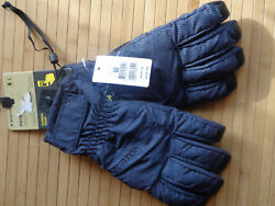 BURTON PROFILE UNDER GLOVES IN MOOD INDIGO UNDERPASS TWILL SIZE LARGE NEW $29.00