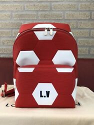 Louis Vuitton x 2018 FIFA World Cup Russian special edition Backpack red JPN