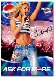 Britney Spears With Pepsi Cola Poster Fridge Magnet Size 2.5_x 3.5_.jpg