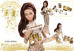 GOLDEN HOLIDAY POPPY PARKER Swinging London 2018 Integrity CLUB EXCL_PP114_NRFB