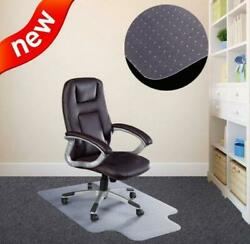 PVC Mat Home Office Carpet Hard Protector Floor Office Chair 48quot;x36quot; 2.0mm thick $25.59