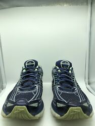 BROOKS GLYCERIN 12 Women's Running Shoes Athletic Blue Lace Up Size 10 Narrow $34.20