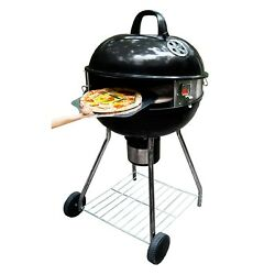 Kettle Grill 18 in Oven Conversion Kit Home Outdoor Cooking Charcoal Chunk