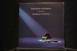 MUSIC OF DISNEY:Legacy in Song:3 CD Near Mint Disney Box & 60-Page Booklet