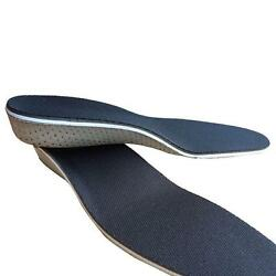 Men Women Shoe Insole Heel Insert Increase Tall Height Lift Invisable Pad CF