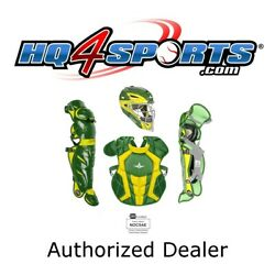 All-Star System 7 Axis Elite Travel Team CKCC912S7XTT Youth Catchers Gear –GN/GD $349.95