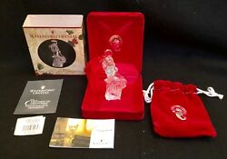 Waterford Crystal 12 Days of Christmas 2003 9th ED 9 LADIES DANCING NIB $25.99
