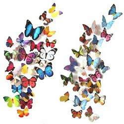 80 3D Butterfly Wall Room Decor Decorations For Teen Girls Bedroom Age 8 10 12 $12.73