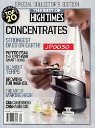 Best Of High Times 2018 #86 Concentrates NewSealed Collector's Edition