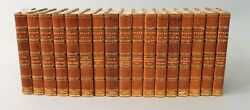Works of Lord Byron by Thomas Moore ESQ. 17Vol. 1832 Leather Bound by Birdsall