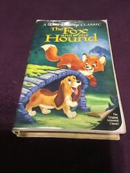 Walt Disney's The Fox and the Hound Black Diamond Rare VHS ISBN: 1-55890-135-3