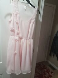teen dresses Cinderella Size 2 light pink