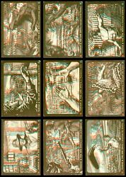 1953 Topps Tarzan and the She Devil Almost Complete Set GD+
