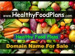 HealthyFoodPlans.com (Healthy Food Plans) - Domain Name For Sale