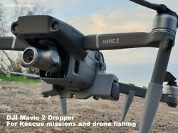 DJI Mavic 2 Auxiliary payload dropper for drone fishing or Rescue missions $129.00