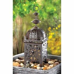 Lot of 8 Exotic Moroccan Style Candle Lanterns Wedding Centerpieces