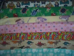 FLANNEL misc NOVELTY kids BTY Cotton quilt FABRIC U Pick See LISTING for DETAILS $6.95