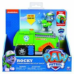 Paw Patrol Rocky???s Transforming Recycle Truck with Pop-Out Tools And Moving F