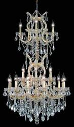 Palace Maria Theresa 25 Light  Crystal Chandelier Light Gold 30x50 $2,285.00