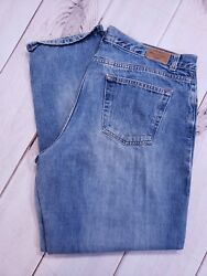 Old Navy Womens At The Waist Relaxed Blue Jeans Medium Wash Size 20R X 30quot; Long $12.40