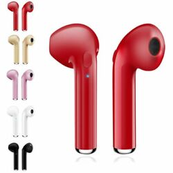 For iPhone 7 8 X Samsung Wireless Earphones Headphones Stereo Earbuds Headset