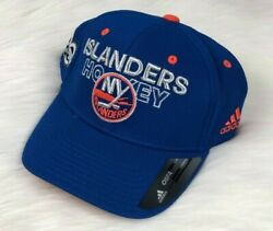 NHL New York Islanders Adidas 100 Year Flex Brim Snapback Hat Cap Blue