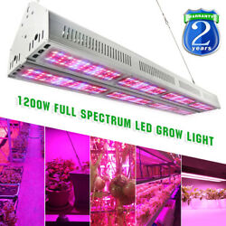 V1200 1200W LED Grow Light Full Spectrum Double Row Sub-Control for Indoor Plant