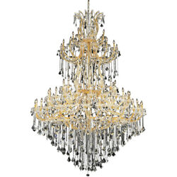 Palace Maria Theresa 85 Light Foyer Crystal Chandelier Light Gold 72x96 $11095.00