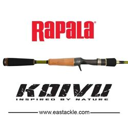 New Rapala KOIVU Cast Rod KVC652M   65 2 Piece  8 - 14LB  Baitcasting Rod $78.64