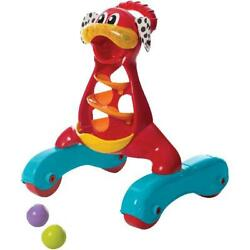 Baby Groovy Step By Step Music and Lights Puppy Walker w Easy Grip Handle NEW