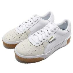 Puma Cali Exotic Wns White Grey Gold Gum Women Casual Lifestyle Shoes 369653-01
