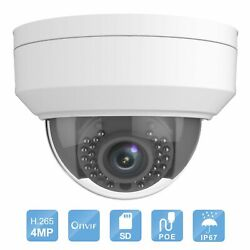 4 Megapixel WDR Fixed HD Network IP Dome Camera 2.8mm Lens Full 1080P H.264plus