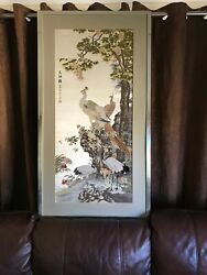 Chinese picture silk embrioidered exotic Birds 23