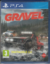 Gravel PS4 PlayStaion 4 Brand New Factory Sealed Off Road Dirt Road Racing Game $24.99